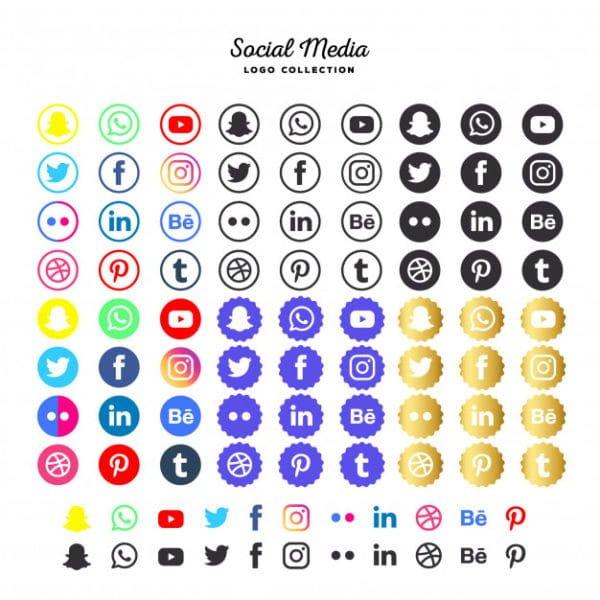 Social media logotype (Turbo Premium Space)
