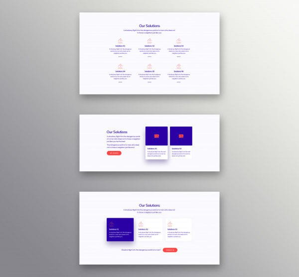 The set of solutions banner (Turbo Premium Space)