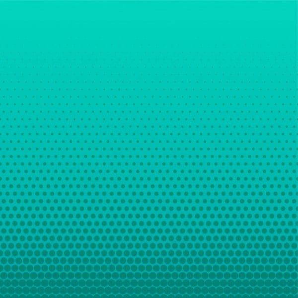 Turquoise halftone dots (Turbo Premium Space)