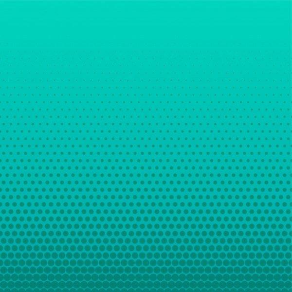Turquoise halftone dots