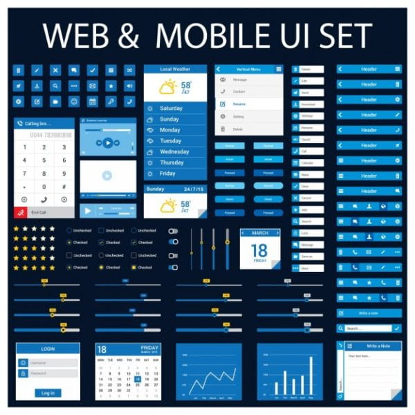 Ui for web and mobile