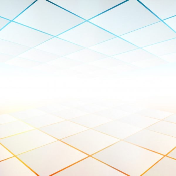 Vector Abstract Perspective Flyer Or Banner With Color And
