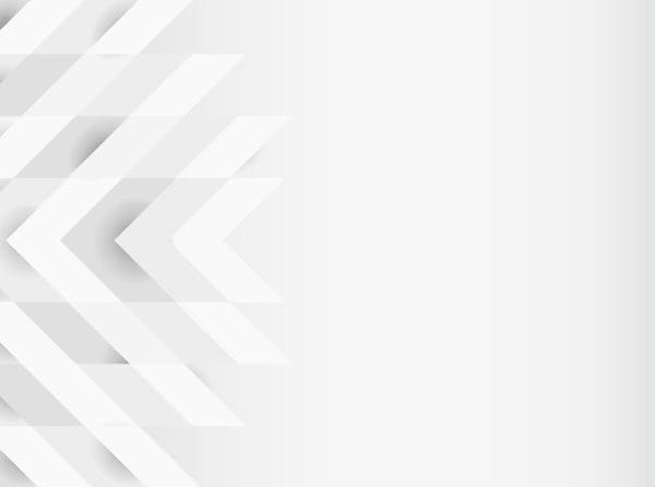 White 3d modern background