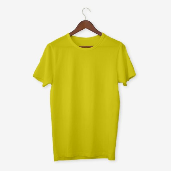 Yellow T Shirt Mockup (Turbo Premium Space)