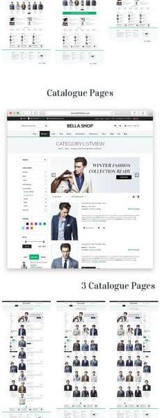 Multipurpose Ecommerce HTML Template - Bella Shop
