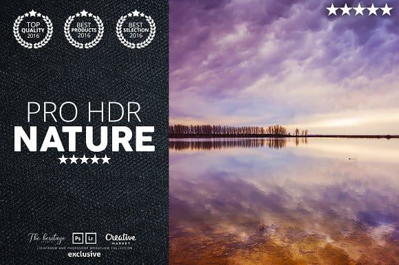 Pro HDR Nature 60 Lightroom Presets (Turbo Premium Space)