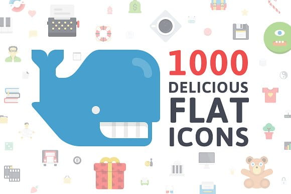 Flatilicious Icons (Turbo Premium Space)