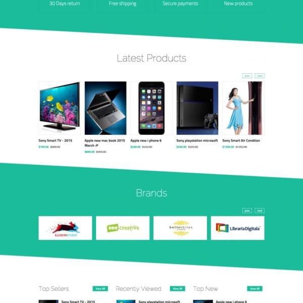 eElectronics - eCommerce HTML Template