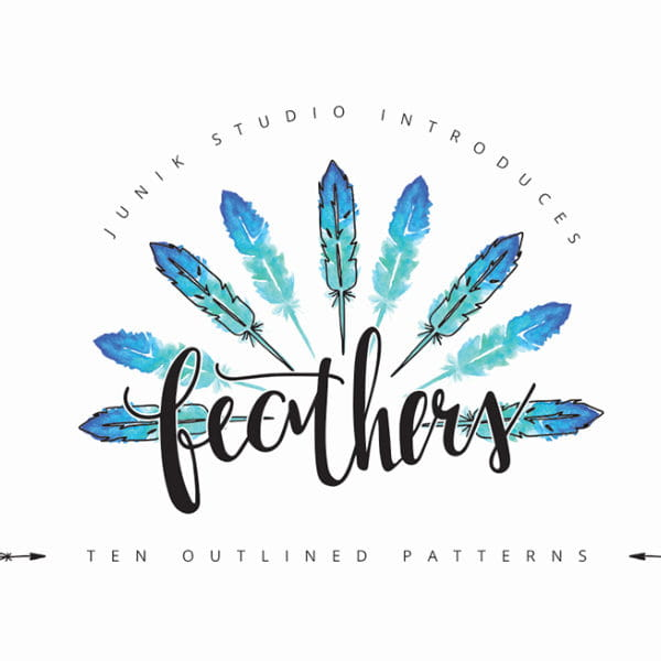 feather patterns (Turbo Premium Space)