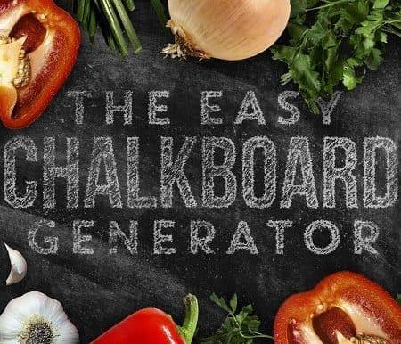 Chalkboard Generator
