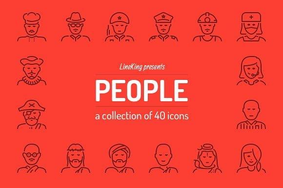People Line Icons (Turbo Premium Space)