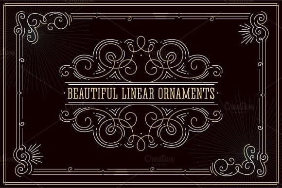 Beautiful linear ornaments (Turbo Premium Space)