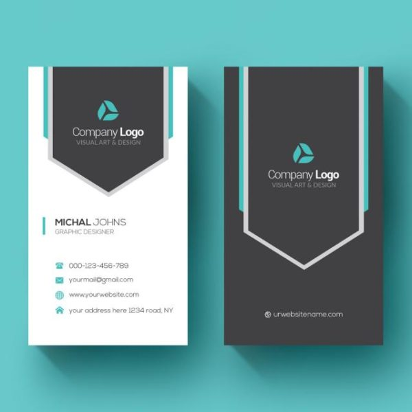 Vertical Business Card (Turbo Premium Space)