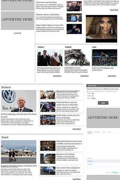 News, Magazine and Blog Full CMS