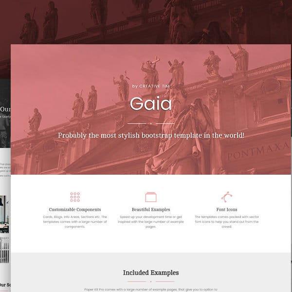 Gaia Bootstrap Template