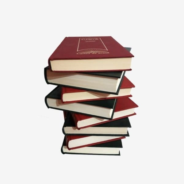 Stack Of Books On Transparent Background