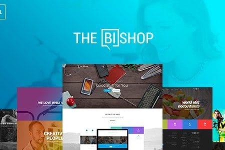 Bishop - Multi-Purpose One & Multi Page Template