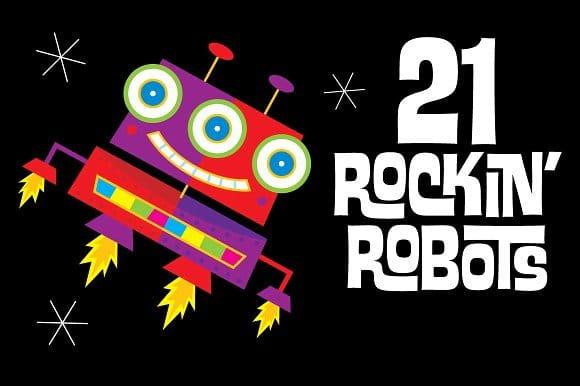 21 Rockin' Robots (Turbo Premium Space)